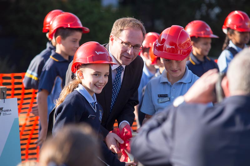 Chairo Christian School Pakenham Sod Turning Event